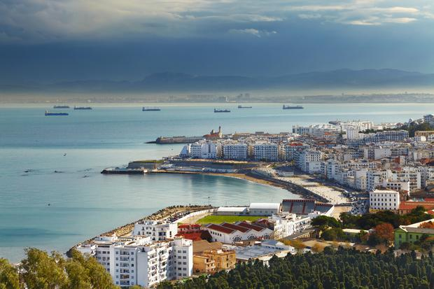 Algiers the capital city of Algeria, Northern Africa