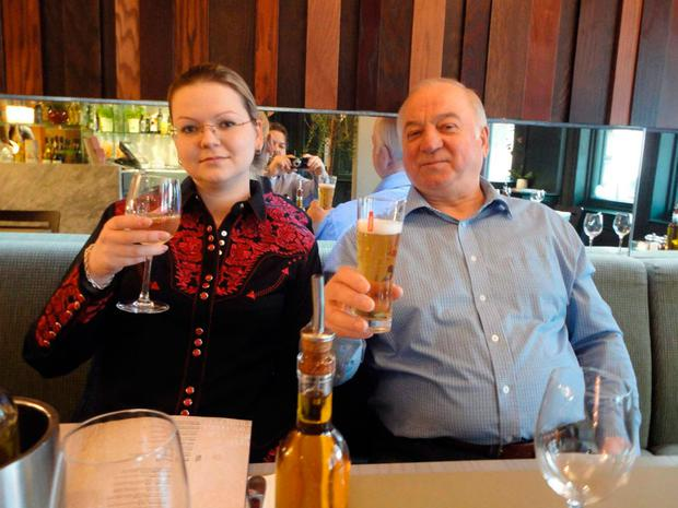 Sergei and Yulia Skripal, who were victims of a nerve agent attack in March
