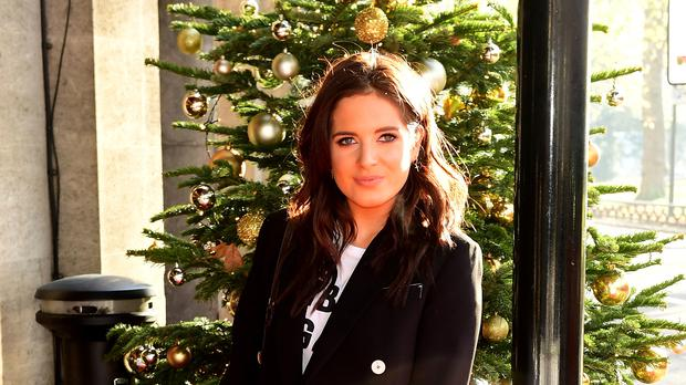 Binky Felstead is helping to kick off Maternal Mental Health Matters week (Ian West/PA)