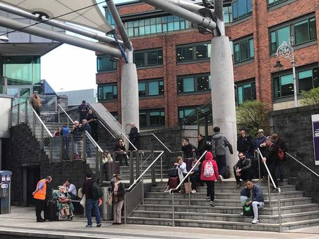 Dublin's Connolly Station shut due to security alert
