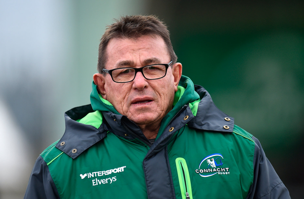 20 January 2018; Connacht head coach Kieran Keane prior to the European Rugby Challenge Cup Pool 5 Round 6 match between Connacht and Oyonnax at the Sportsground in Galway. Photo by Seb Daly/Sportsfile