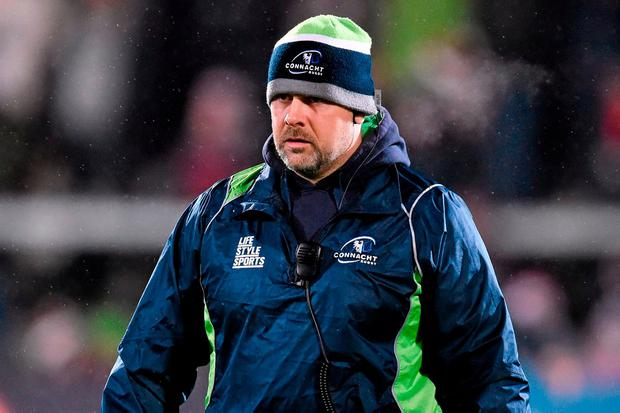 Dan McFarland learned his trade as a coach under Pat Lam at Connacht and will be under no illusions about the size of the task that he faces in taking the reins at Ulster. Photo: Ramsey Cardy/SPORTSFILE