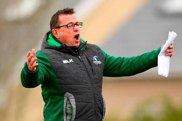 Connacht have parted ways with head coach Kieran Keane