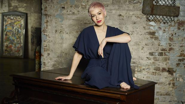 The UK's Eurovision entry SuRie has received advice from past winner Conchita (Joel Anderson/BBC)