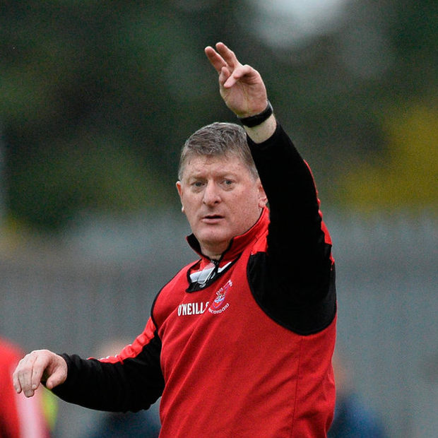 Pádraig Pearses v Clann na nGael Roscommon County Senior Football Championship Final...18 October 2015; Shane Curran, Pádraig Pearses manager. Roscommon County Senior Football Championship Final, Pádraig Pearses v Clann na nGael. Dr. Hyde Park, Roscommon. Picture credit: David Maher / SPORTSFILE...ABC