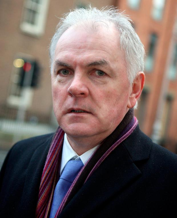 John O'Dwyer: significant fall in claims in public hospitals. Photo: Tom Burke