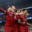 Liverpool rallied in the second-half to qualify for the last four (Getty)