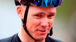 Chris Froome. Photo: PA
