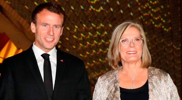 Lost in translation? Macron calls leader's wife 'delicious'