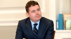 According to Finance Minister Paschal Donohoe no more than 10 companies have claimed tax relief under the Government's scheme. Photo: Justin Farrelly