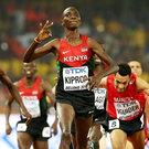 Asbel Kiprop wins the 1500m at the 2015 IAAF World Championships in Beijing