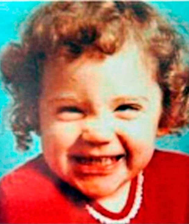 Undated handout file photo issued by Missing People of Katrice Lee before she went missing on her second birthday. ohnny Green/Missing People/PA Wire