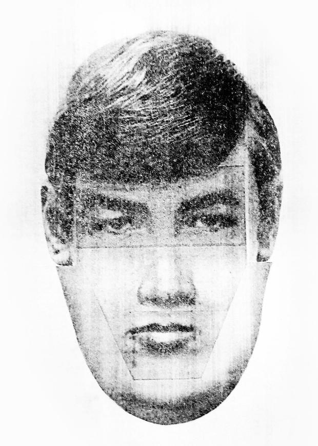 Undated handout photo issued by the MOD of an e-fit of a suspect in the disappearance of Katrice Lee. MOD/PA Wire