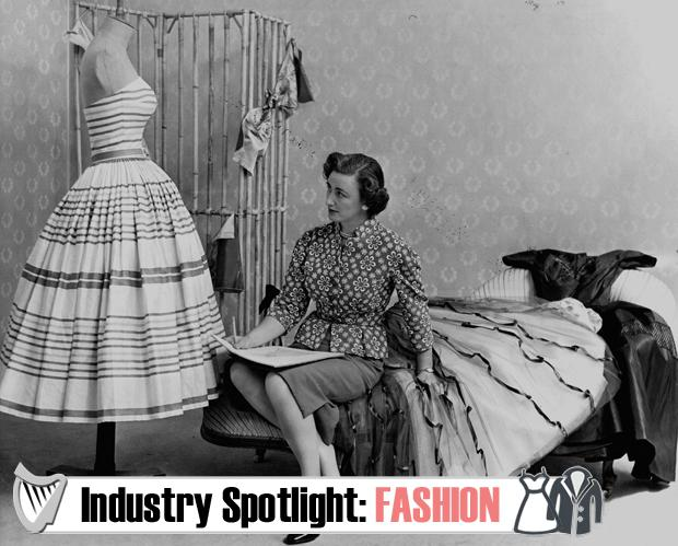Couturier Sybil Connolly photographed at the launch of her US collection in June 1953