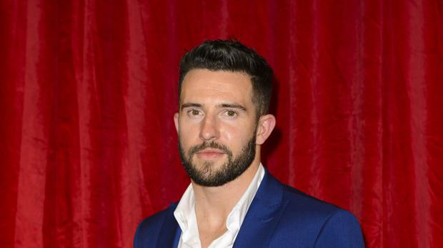Emmerdale star Michael Parr has revealed his friend helped an acid attack victim.