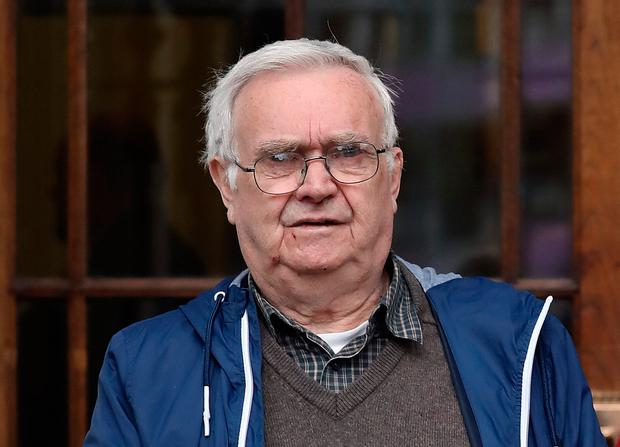 Anthony Harris, 80yrs, of Dunard Walk, Navan Road, Dublin, pictured leaving the Four Courts after a Circuit Civil Court action Photo: Collins Courts