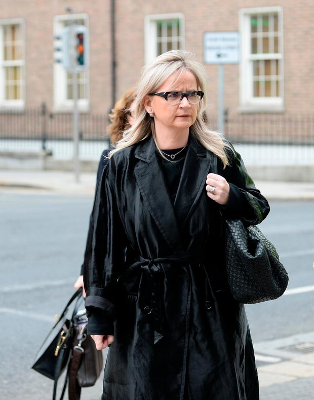 RTE Director General Dee Forbes arriving at Leinster House. Kildare Street, Dublin. Picture: Caroline Quinn