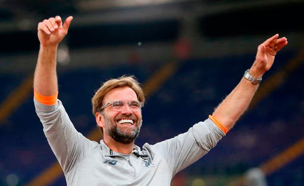 Liverpool manager Jurgen Klopp. Photo: PA Wire