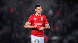 24 June 2017; Jonathan Sexton of the British & Irish Lions following the First Test match between New Zealand All Blacks and the British & Irish Lions at Eden Park in Auckland, New Zealand. Photo by Stephen McCarthy/Sportsfile