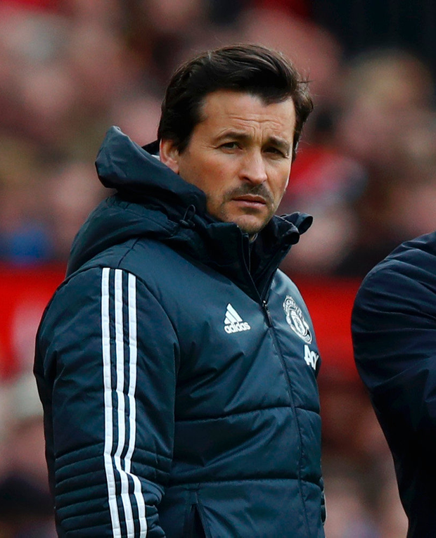 Manchester United assistant manager Rui Faria. Photo: Getty