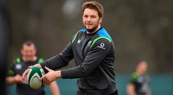 Iain Henderson is free to face Italy