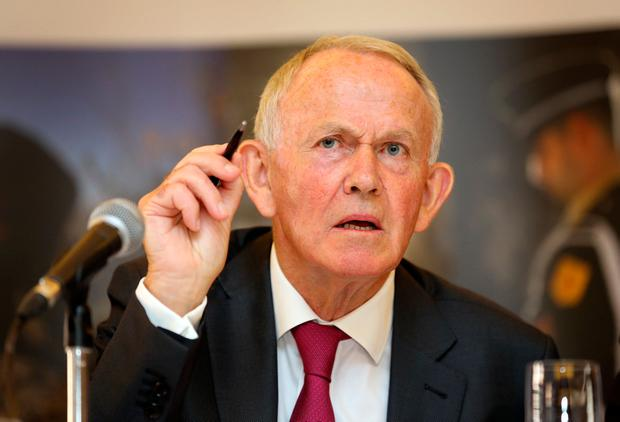 Former INM chairman Leslie Buckley stood down in March