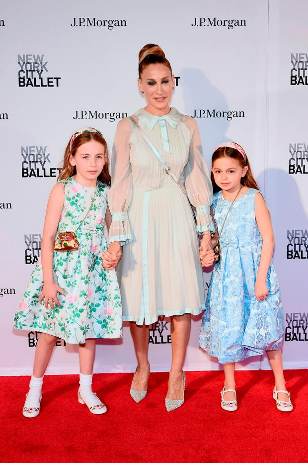 Marion Loretta Elwell Broderick, Sarah Jessica Parker, andTabitha Hodge Broderick attend New York City Ballet 2018 Spring Gala at Lincoln Center on May 3, 2018 in New York City. (Photo by Steven Ferdman/Getty Images)