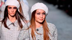 Gigi Hadid walks the runway during Chanel Cruise 2018/2019 Collection at Le Grand Palais on May 3, 2018 in Paris, France. (Photo by Pascal Le Segretain/Getty Images)
