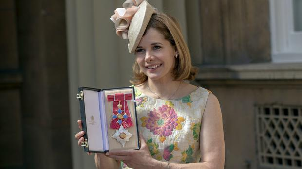 Darcey Bussell following the ceremony (Steve Parsons/PA)