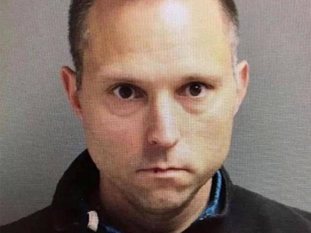 Thomas Tramaglini was caught defecating in the grounds of Holmdel High School in New Jersey Holmdel Township Police