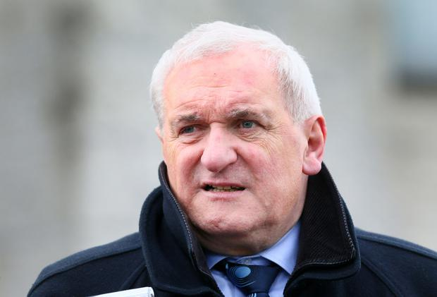 Former taoiseach Bertie Ahern. Photo: INM