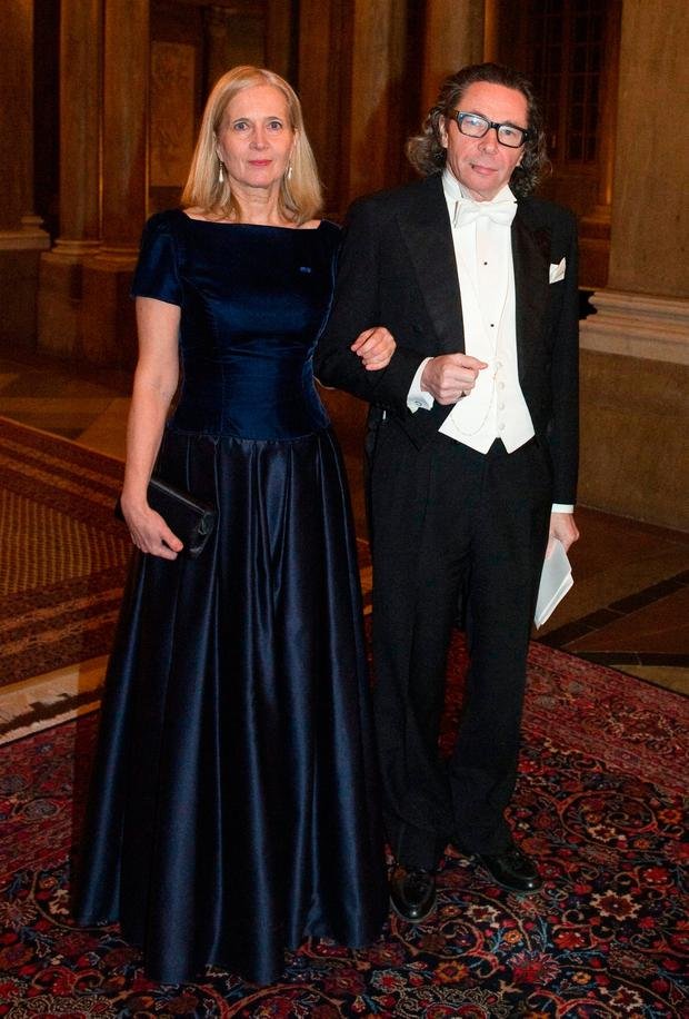 Katarina Frostenson and Jean-Claude Arnault. Photo: Getty Images