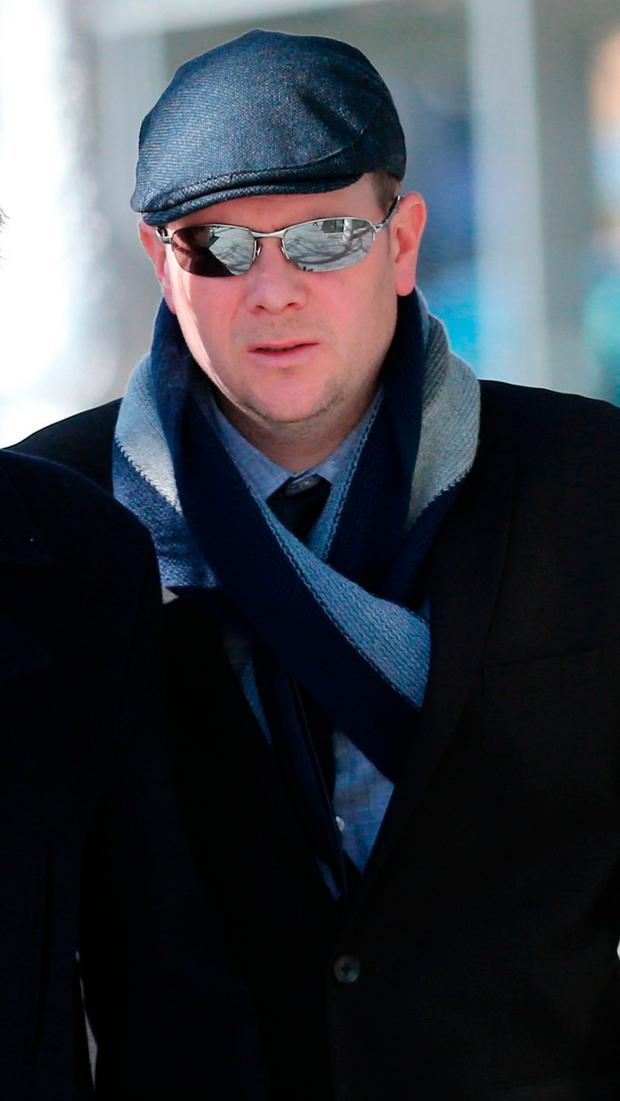 Postman David Byrne, who has a degenerative eye disorder, was found guilty of dangerous driving causing death