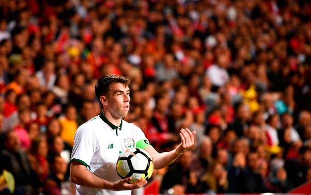 Seamus Coleman of Republic of Ireland. Photo by Stephen McCarthy/Sportsfile