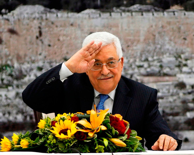 Mahmoud Abbas, president of the Palestinian Authority: his remarks 'are a fundamental menace to our open and liberal societies', according to the EU's foreign service, the EEAS. Photo: Reuters