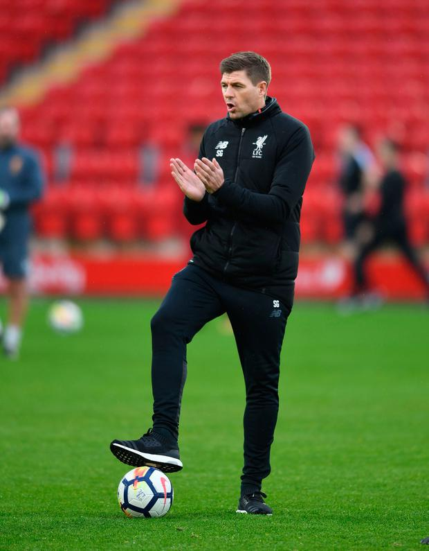 Gerrard's challenge increases now because he is dealing with transfers, a different media and fans who respect his achievements elsewhere but do not automatically worship him for what he represents. Photo by David Price/Arsenal FC via Getty Images