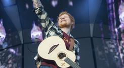 Ed Sheeran pictured performing at Pairc ui Chaoimh during his Irish Tour 2018. Photo: Daragh Mc Sweeney/Provision.