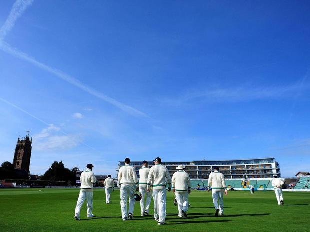 Ireland played Somerset in a friendly match last month at Taunton