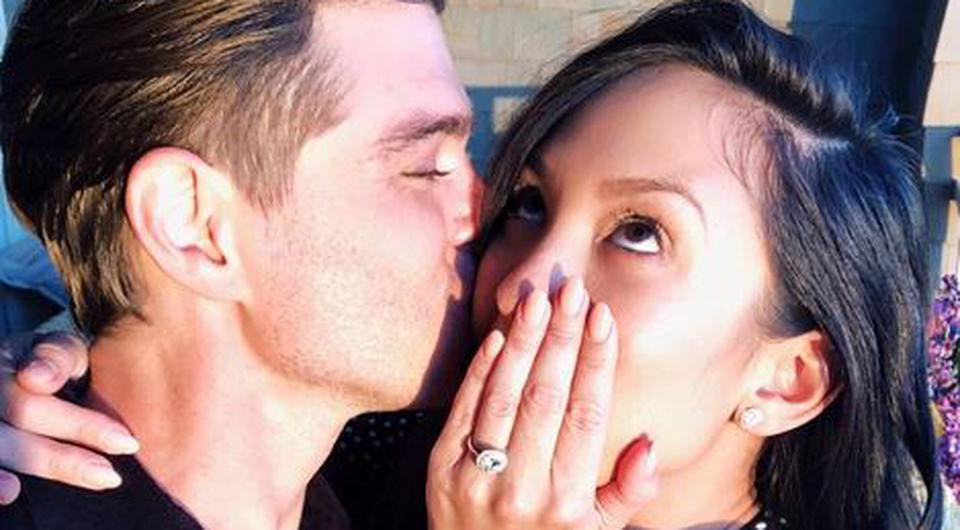 Cheryl Burke announced her engagement to Matthew Lawrence on Instagram