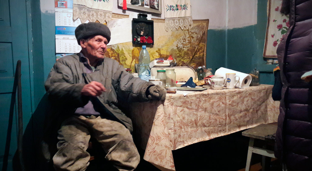 Ivan Semenyuk remembers being evacuated from the Chernobyl area after the disaster. Photo: Wayne O'Connor