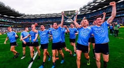 'It would be good for everyone if somebody could slay the Dublin dragon'. Photo: Stephen McCarthy/Sportsfile