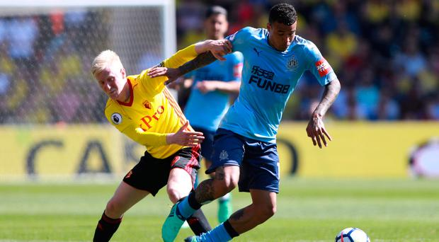 Watford tops Toon for first win in eight matches