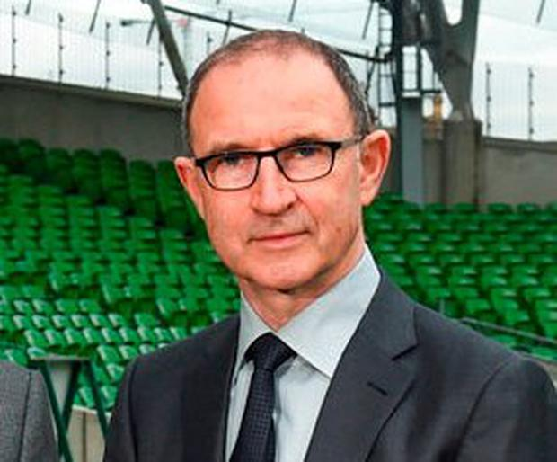 Ireland manager Martin O'Neill. Photo: David Fitzgerald/Sportsfile