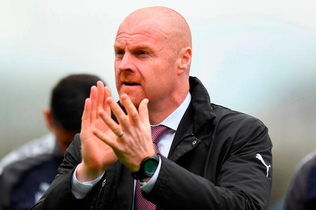 The day is all about Arsene': Sean Dyche. Photo: Anthony Devlin/PA