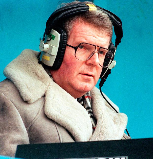 BBC 'Match of the Day' commentator John Motson. Photo: PA
