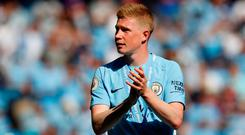 Kevin De Bruyne first worked with Mourinho at the age of 21 in the summer of 2013 after the manager returned for his second spell at Chelsea. Photo: Reuters