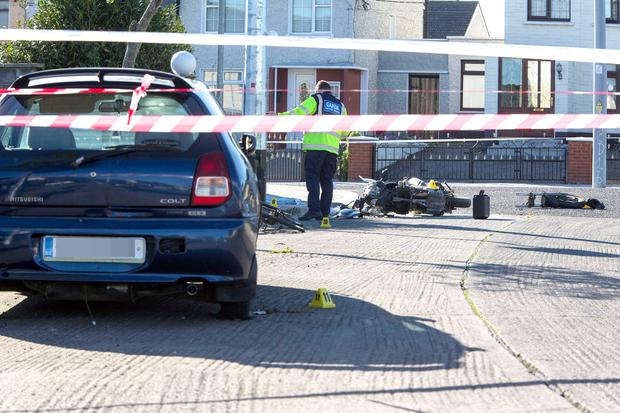 Motorcyclist dies after bike crash in Dublin
