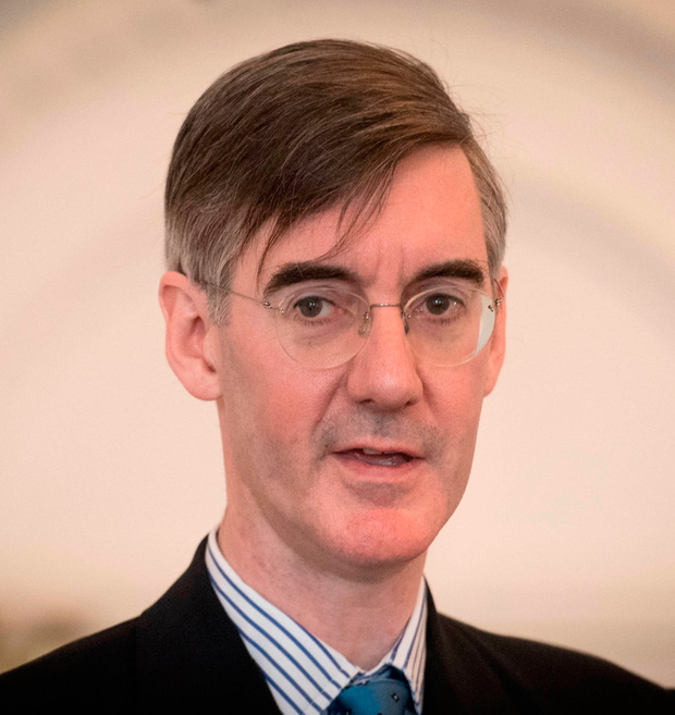 Jacob Rees-Mogg is among Tory MPs pushing Mrs May on Brexit. Photo: Stefan Rousseau/PA Wire
