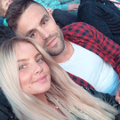 Joanna Cooper with boyfriend Conor Murray at the Ed Sheeran concert. Picture: Instagram