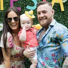Dee Devlin and Conor McGregor with their son Conor McGregor Jr. Picture: Instagram